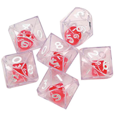 Double Polyhedra Dice 10 sided