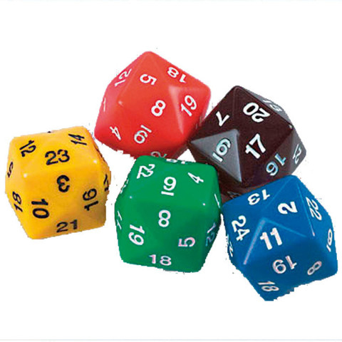 24 Sided Polyhedra Dice