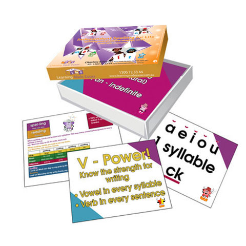 learning made easier spelling cards