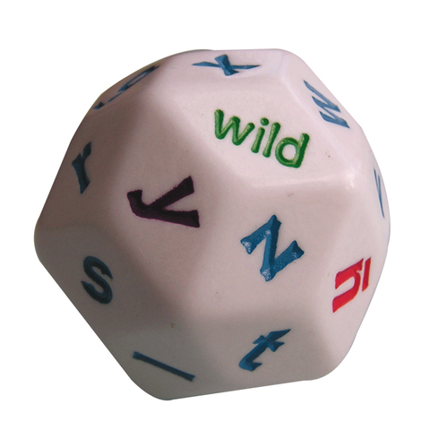 30 Sided Alphabet Dice