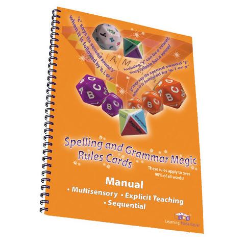 spelling and grammar magic teacher manual