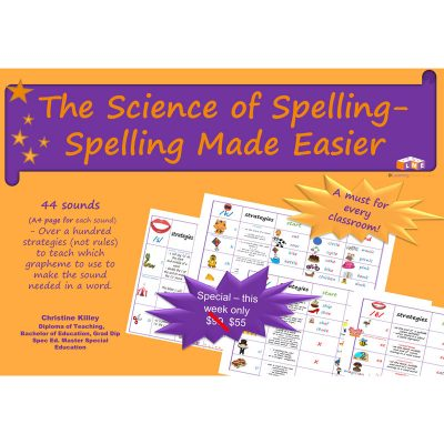 The science of spelling learning made easier